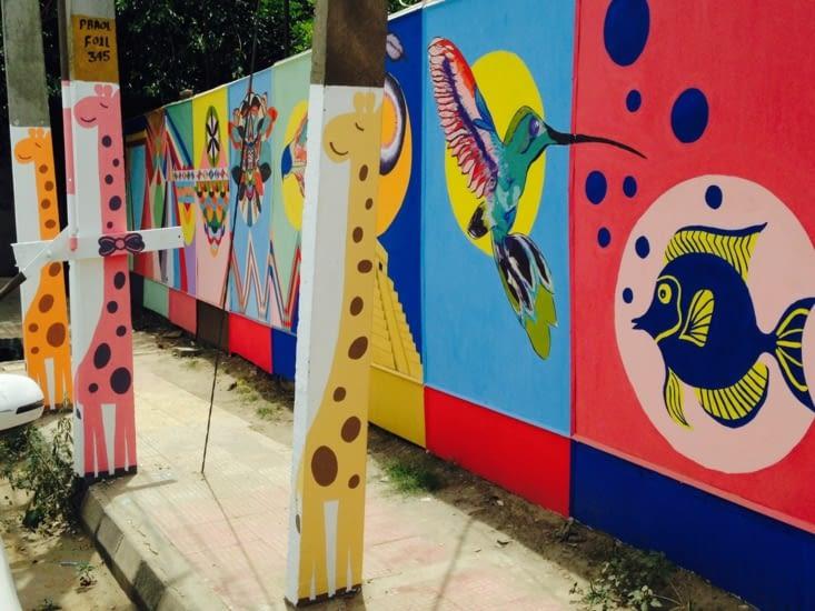 Atelier créatif... de rue :)
