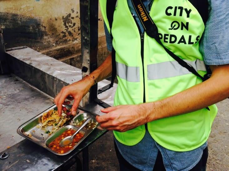 Découverte gastronomique à vélo : la kulcha d'Amritsar !