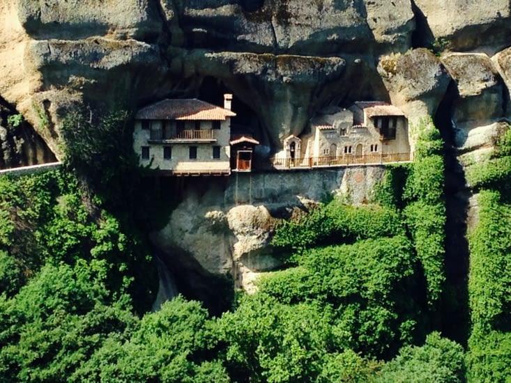 Les monastères perchés des Météores