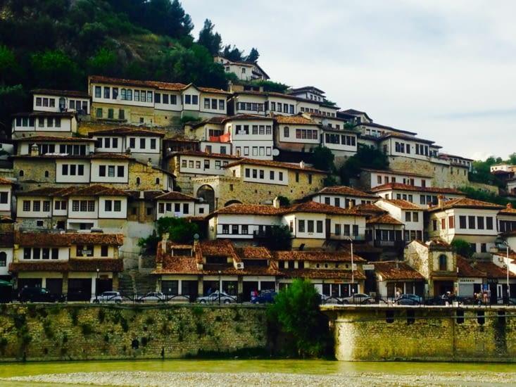 Berat, le village aux 1000 fenêtres