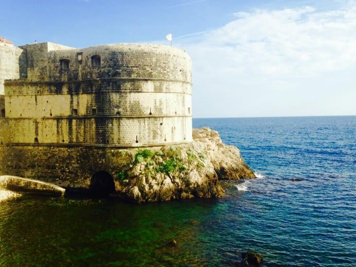 Dubrovnik, sur la côte croate.