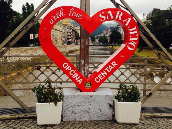 Bienvenue à Sarajevo !