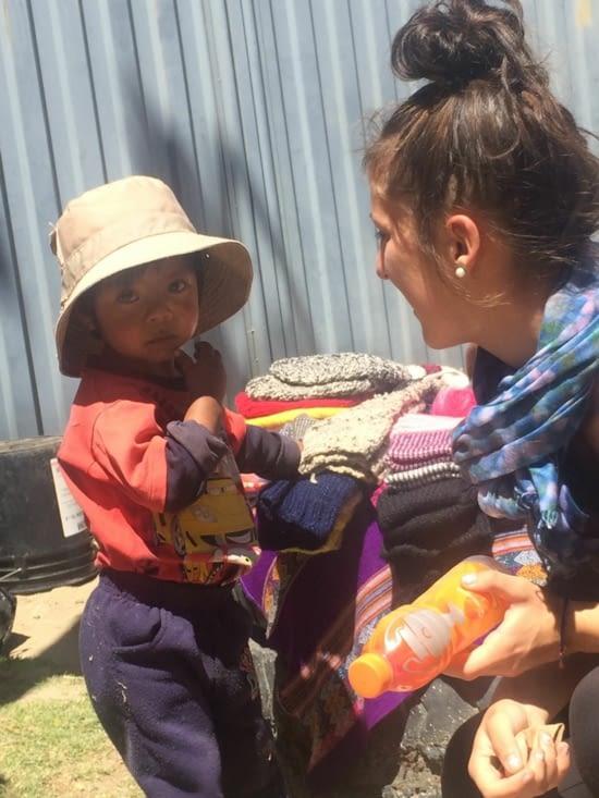 À la rencontre d'un petit péruvien bien timide