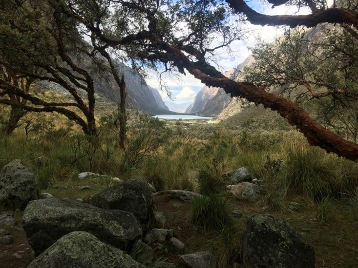 La laguna 66, au cœur de la vallée