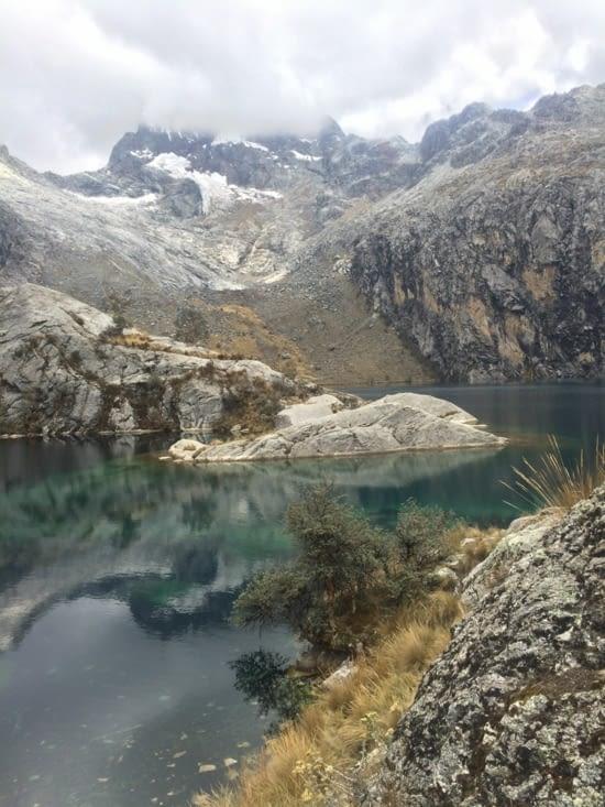 La laguna Churup, pas si facile.... mais si belle