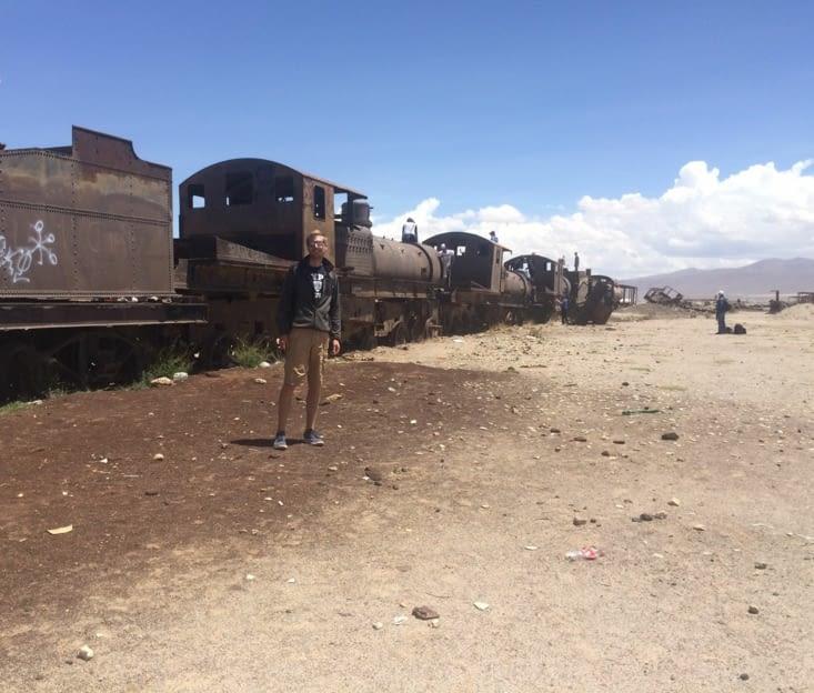 Le cimetière des trains