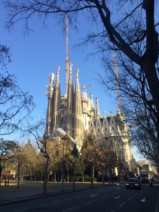 La Sagrada Familia...toujours pas finie