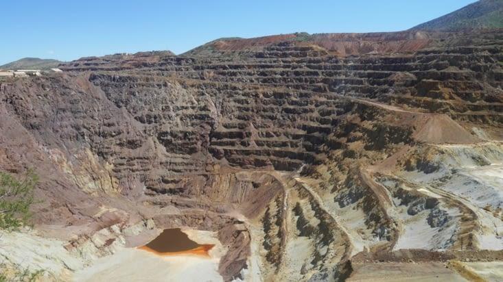 Un aperçu de la gigantesque exploitation minière dans la région