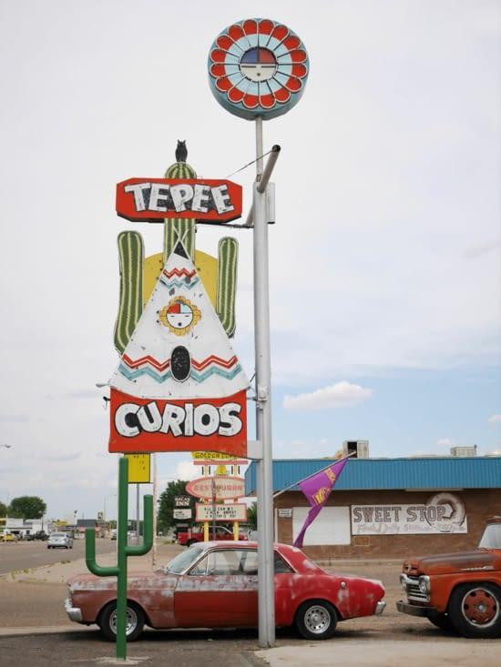 Boutique très connue de la route 66