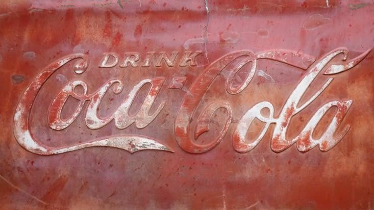 Ne pas oublier Coca Cola, un autre emblème de la route 66 et des Etats-Unis également