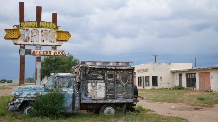 Photo typique des abords de la route 66
