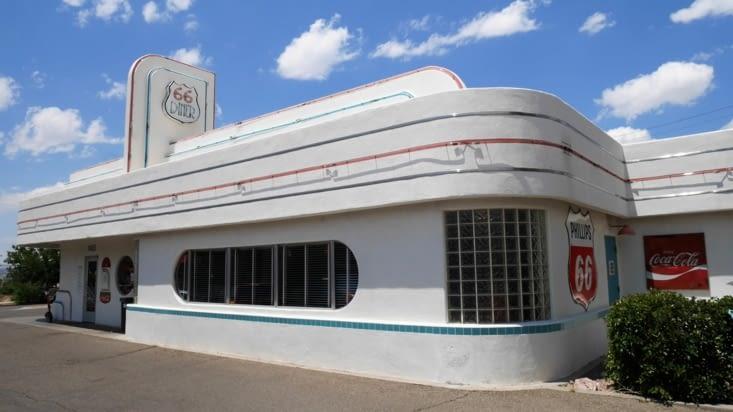 Pour conclure le célèbre Diner 66 d'Albuquerque