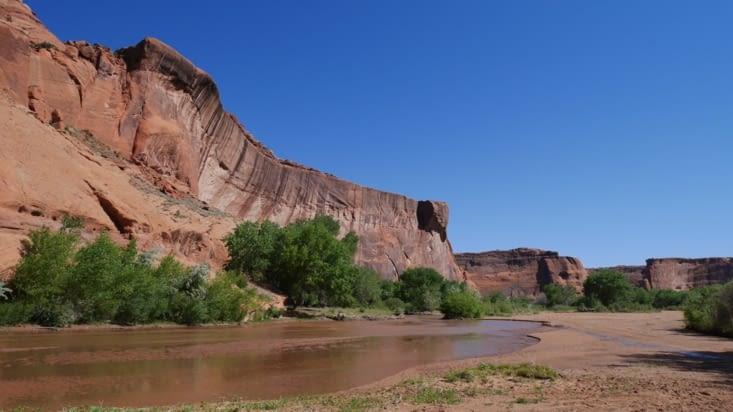 Le début du canyon, déjà très beau