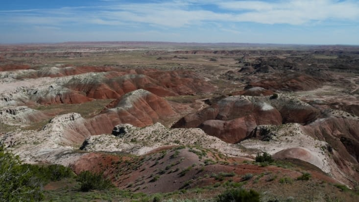 Quelques formations du Painted desert