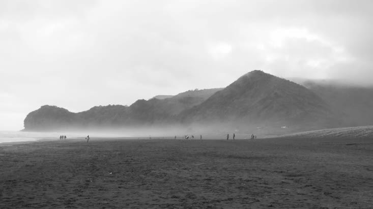 La plage de Piha