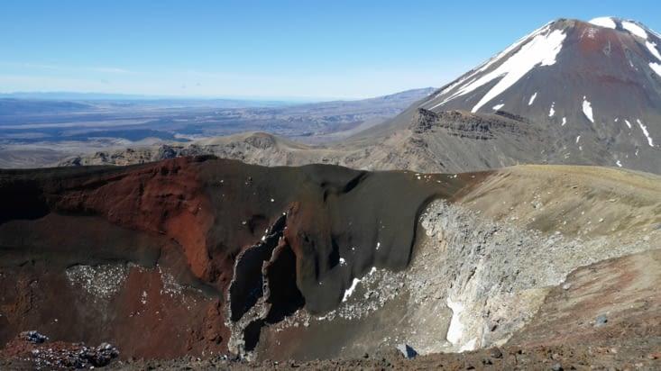 Le red crater, le sommet de la randonnée