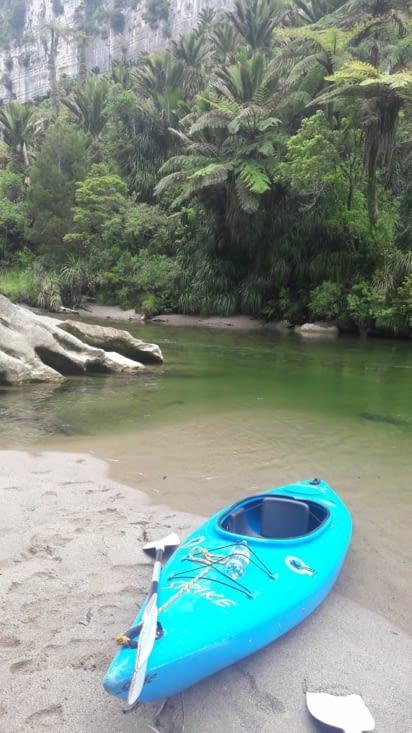 Notre cher kayak