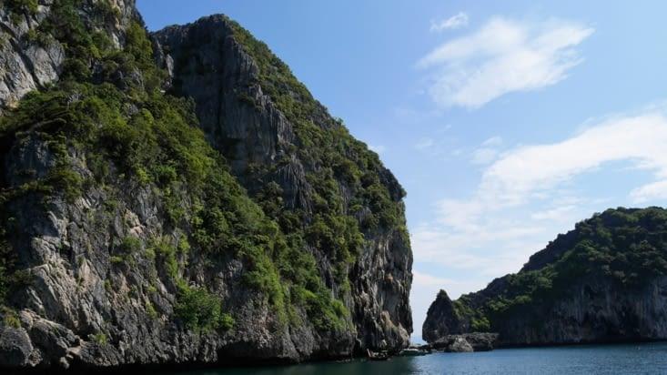 Une formation rocheuse typique de cette région