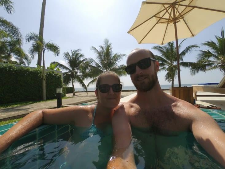 OKLM dans la piscine