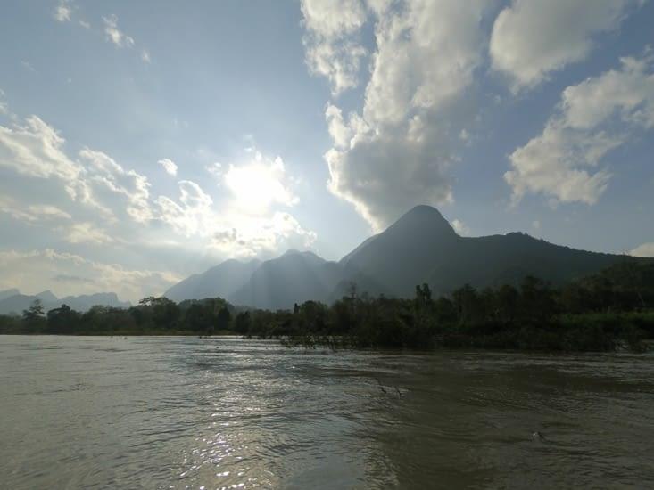 Un extrait de notre chemin en kayak