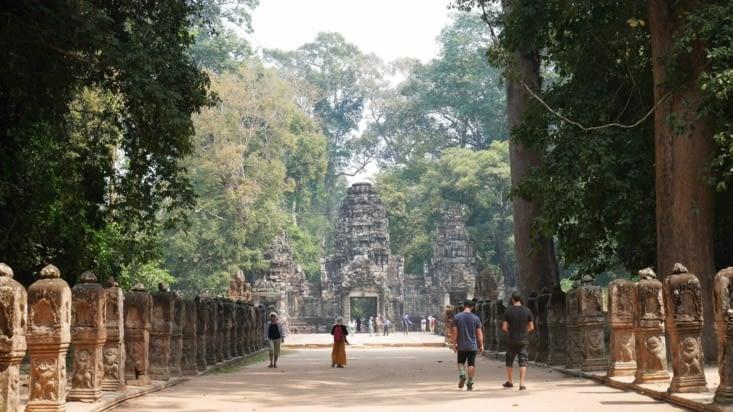 L'entrée majestueuse de Preah Khan