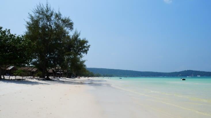 La plage de Saracen Bay, superbe