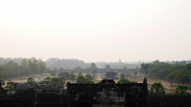 Angkor Wat dans la brume