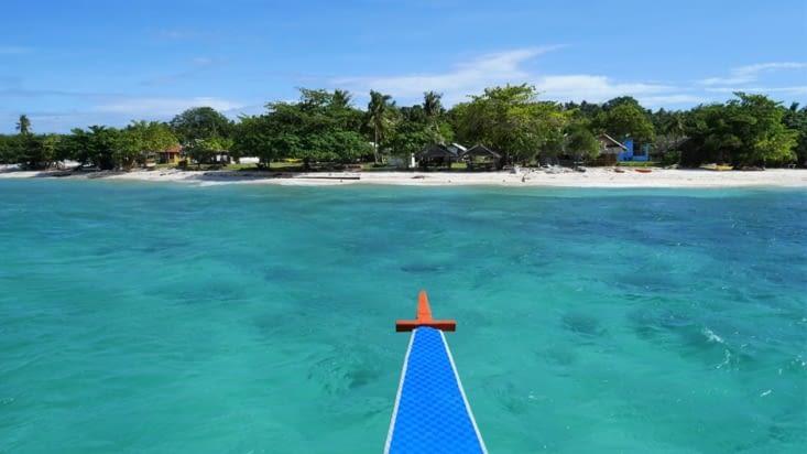 La minuscule île de Pamilacan
