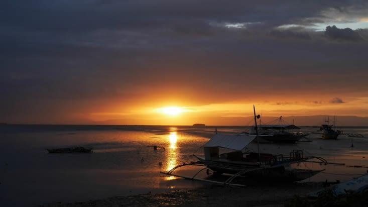 Le sunset à Panglao