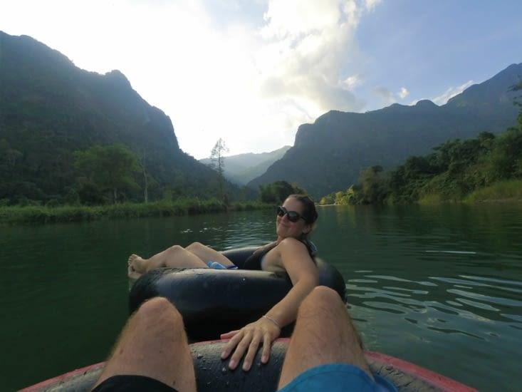 Tubing au Laos