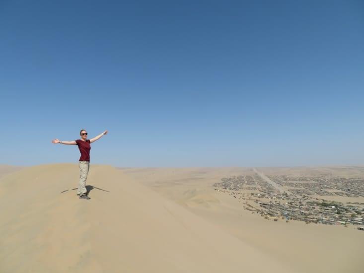 Le désert aux portes de la ciudad d'Ica