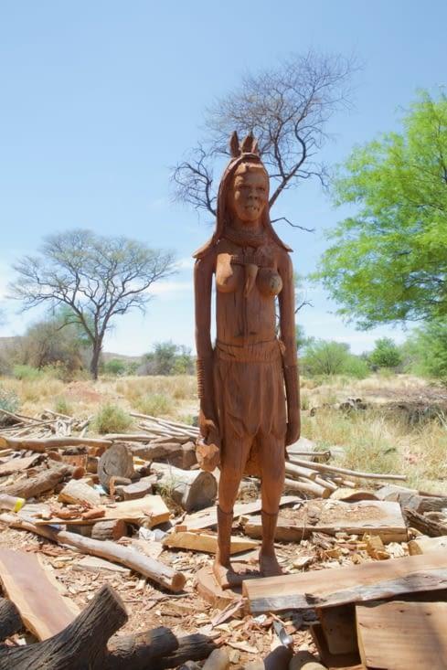 culture d'une femme Himba