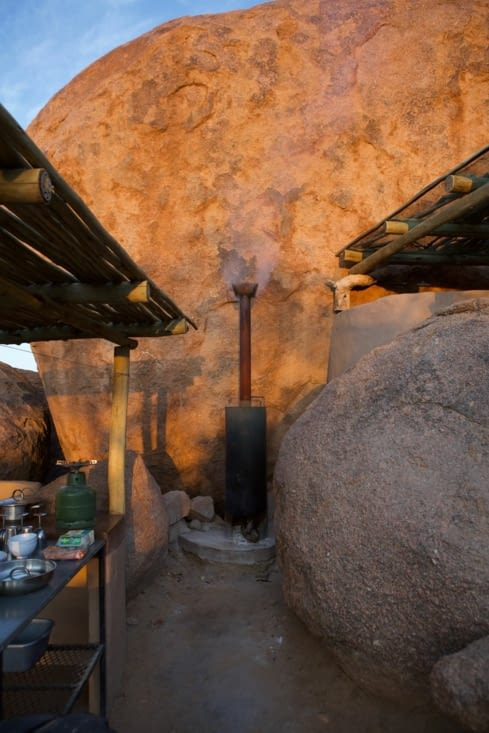 chauffe-eau à bois