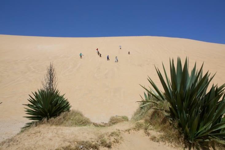 Les dunes de glisse