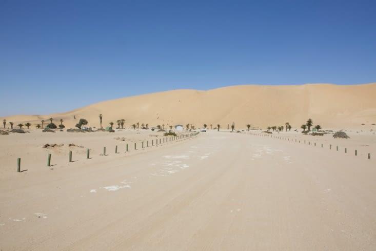 les dunes près de Swakopmund