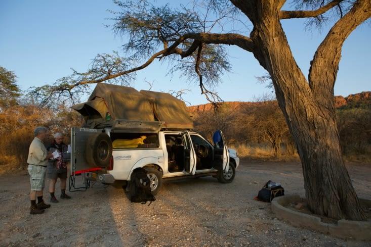 installation camping