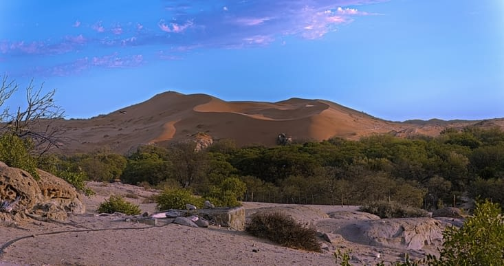 les dunes de Gobabed
