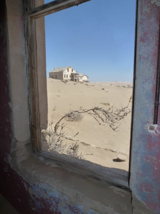 fenêtre de sable