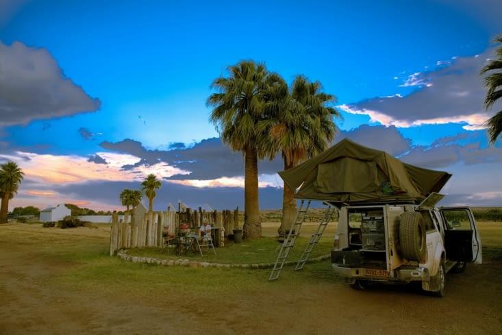 dernier camping AV Windoek