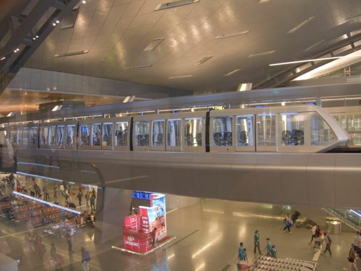 Le géant aéroport de Doha
