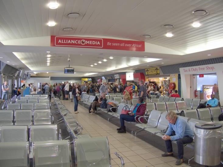 Le gentil aéroport de Windoek