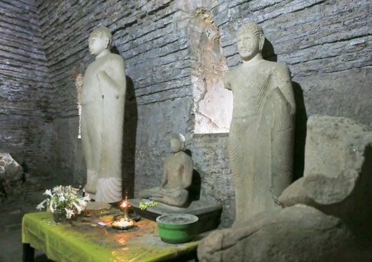 lieux de prière Polonnaruwa