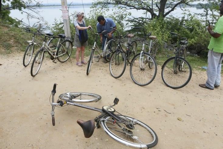 prépa vélos