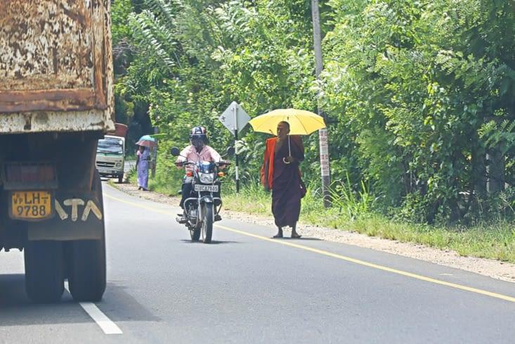 le moine bouddhiste