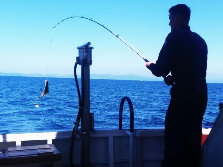 La pêche ? C`etait un peu la pêche miraculeuse, un plein grand bacha!