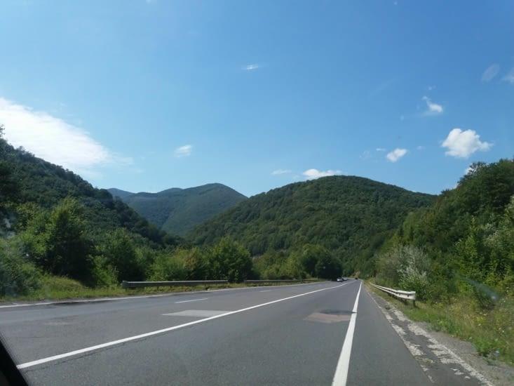 J'ai retrouvé les Carpates qui m'avaient tellement  plu lors de mon passage en Roumanie.