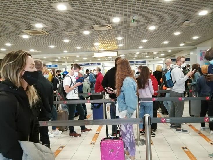 Les aéroports sont blindés