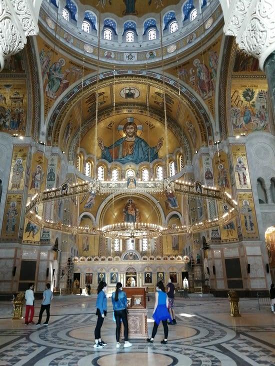 L'église.St Sava