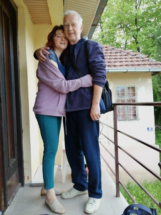 Liliana et Micha sont sur le départ pour NoviSad