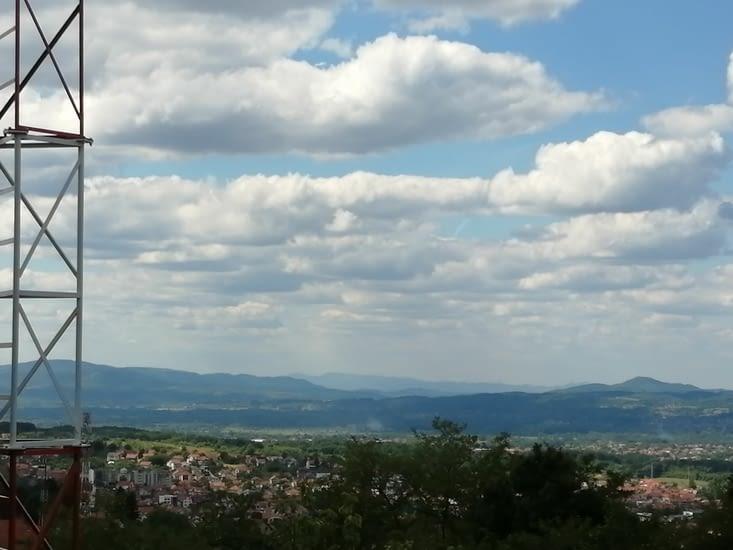 La vallée en direction du Monténégro